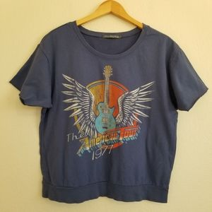 NWOT Truly Madly Deeply Graphic Top L